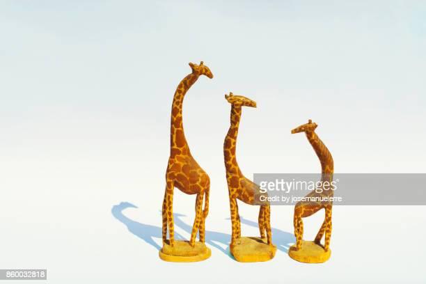 bodegón de jirafas - josemanuelerre fotografías e imágenes de stock