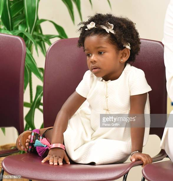 Bodhi Brown attends Proclamation to Bobby Brown To Honor the Bobbi Kristina Serenity House at South Fulton City Hall on July 30 2018 in City of South...