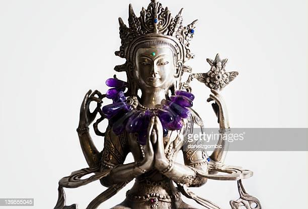 bodhisattva estátua - buddhist goddess imagens e fotografias de stock