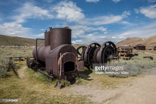 bodie ghost town - trading_post stock pictures, royalty-free photos & images