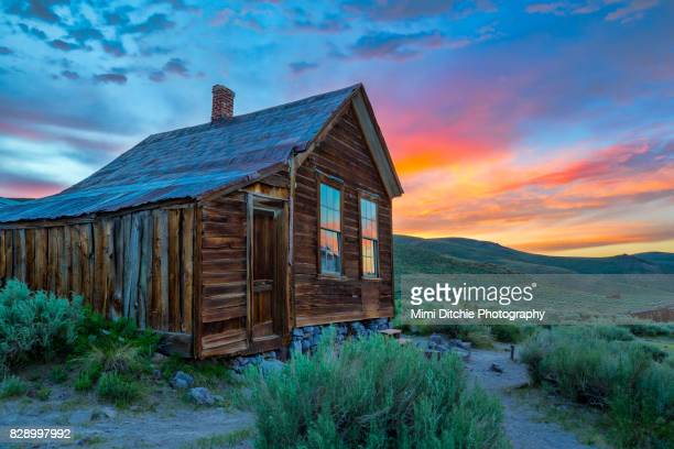 Bodie Ghost Town Sunset