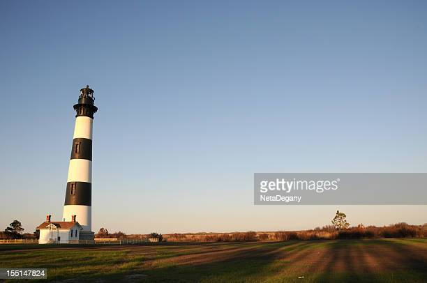 Bodie Lighthouse in North Carolina's Outer Banks