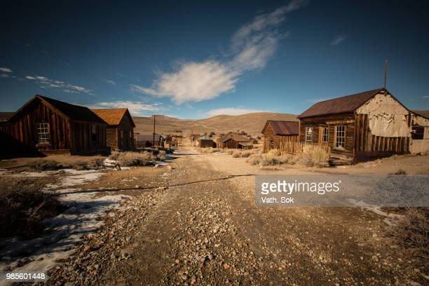 Bodie the ghost town in California