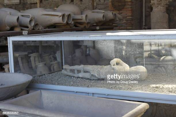 Bodies of Pompeii Residents preserved as Plaster Casts 2,100 years after They died in Volcanic Blast