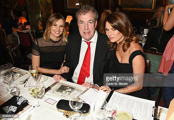 Bodil Blain Jeremy Clarkson and Gabriela Peacock attend the launch of GP Nutrition Supplements a collection of five premium nutritional programmes...