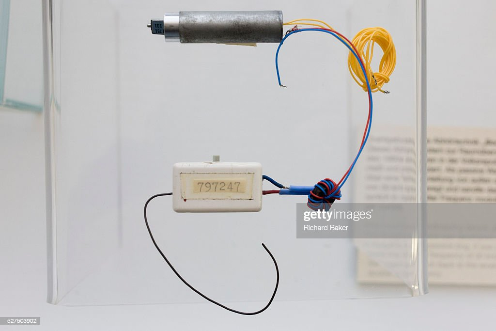 Germany - Berlin - GDR-era Stasi eavesdropping device : Nachrichtenfoto