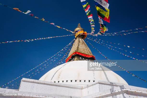 bodnath stupa - kathmandu stock pictures, royalty-free photos & images