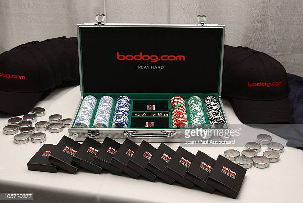 Bodog.com Poker set during bodog.com at The Silver Spoon Pre-Emmy Hollywood Buffet - Day 1 at Private residence in Beverly Hills, California, United...