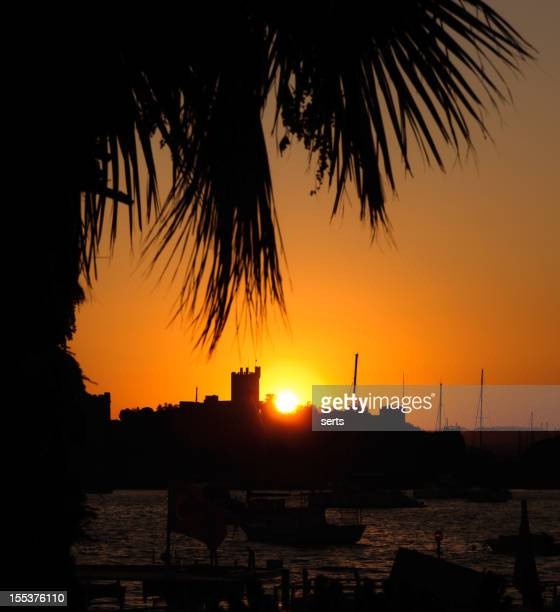 Bodrum Castle and sunset