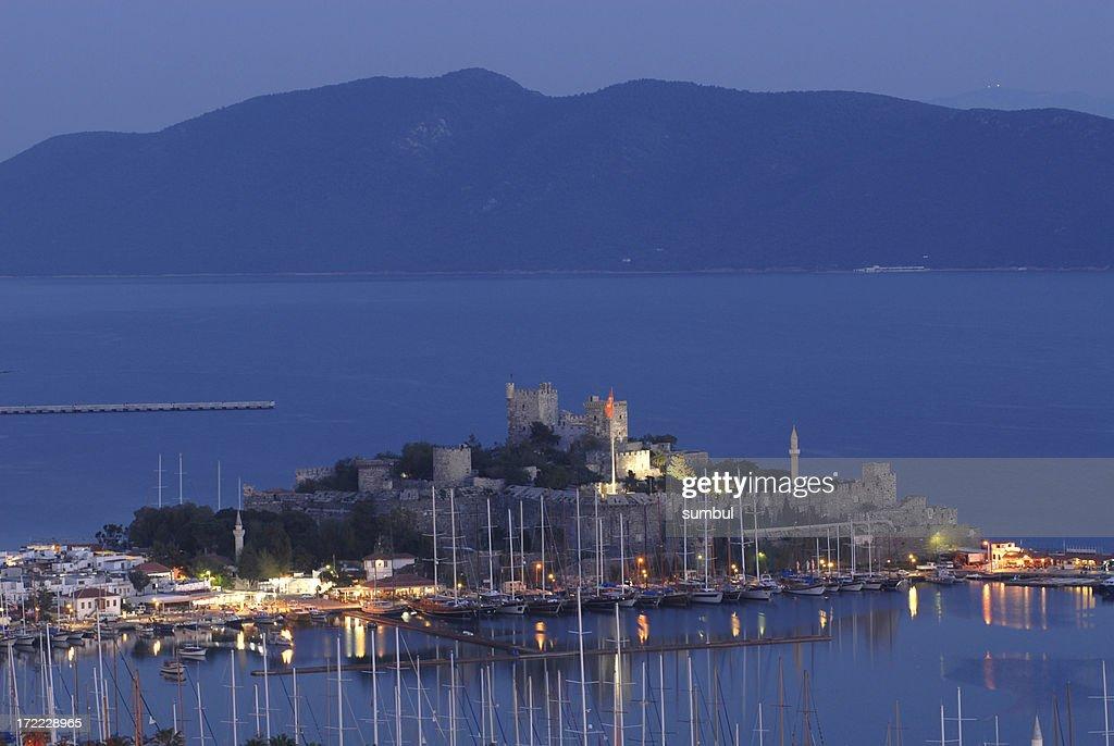 Bodrum, Halicarnassus, Castle of St. Peter. : Stock Photo