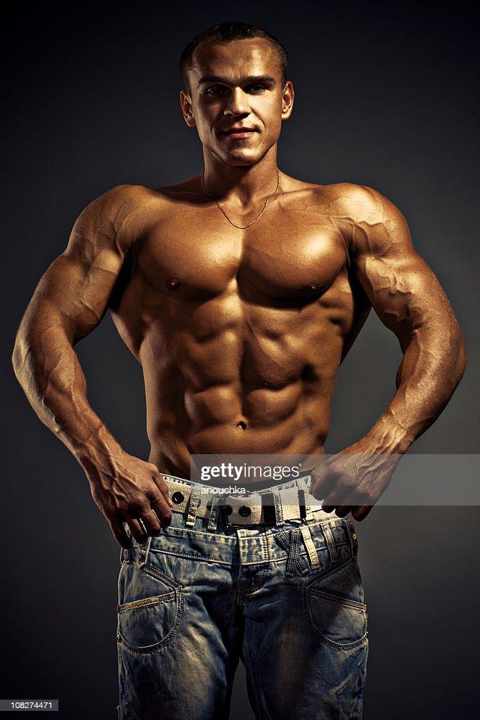 Sexy black men body