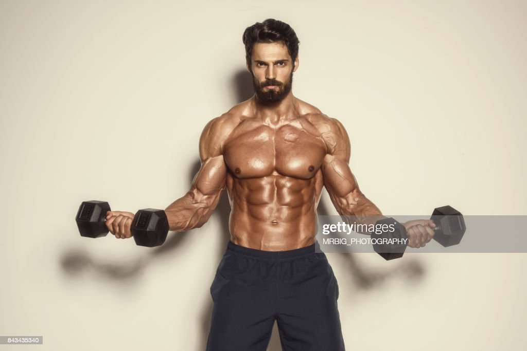 Body Building Workout : Foto stock