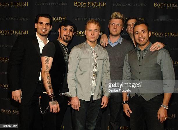 Body English managing partner Cory McCormack Hard Rock celebrity VIP host Richard Wilk music producer Tommy Lipnick and musical group Backstreet Boys...
