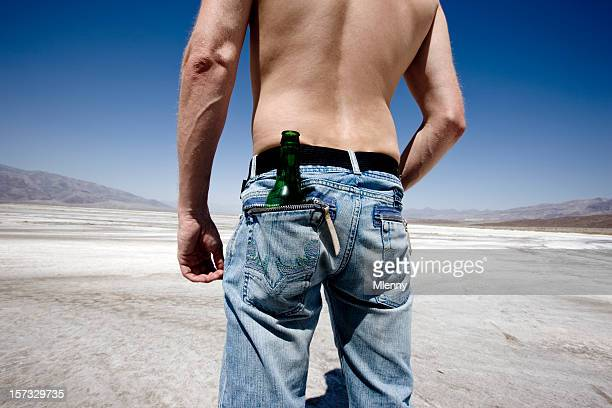 Körper, Jeans, Durst stillen und die Death Valley