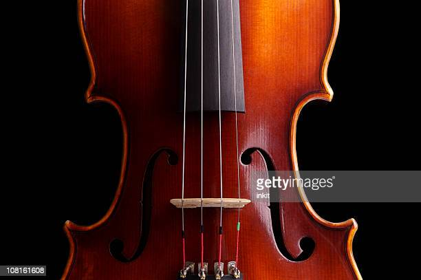 body of a violin - violin family stock photos and pictures