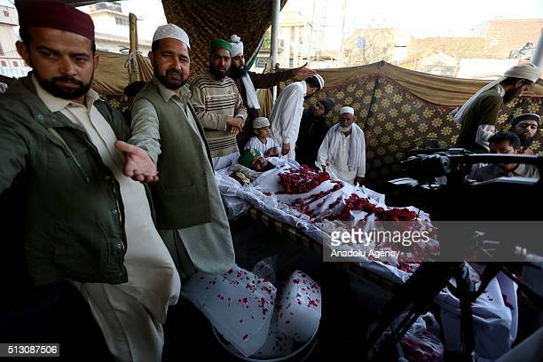 Body of Mumtaz Qadri, former police bodyguard who shot dead Punjab's governor Salman Taseer in Islamabad in 2011 over his opposition to laws that...