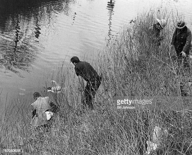 FEB 14 1977 FEB 18 1977 Body of woman found in Cherry Creek Frank zalesny left a medical examiner for the Denver coroner's office looks into Cherry...
