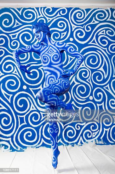 Body Paint: Swirl Camouflage