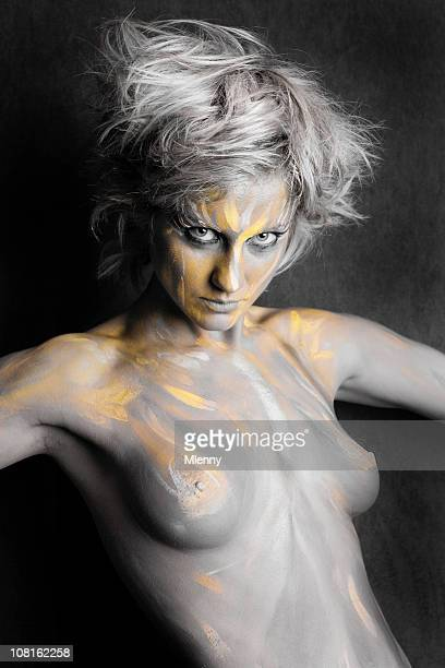 Body Painted Woman