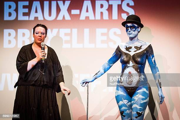Body Painting at the Brussels International Fantastic Film Festival For the second year the festival takes place in the Center of Fine Arts It bring...