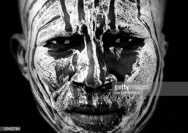 Body painting from Karo tribe on Korcho village in Ethiopia on October 30 2008 The Karo with a population of about 1000 1500 live on the east banks...