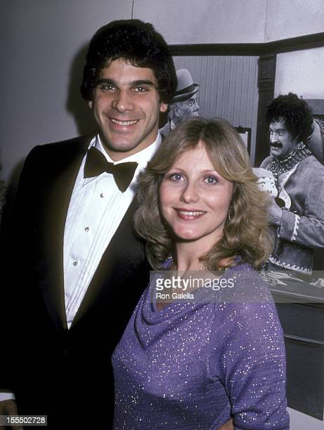 Bodybuilder and Actor Lou Ferrigno and wife Carla Green attend the Taping of Bob Hope's Television Special 'The Bob Hope Anniversary Show'...