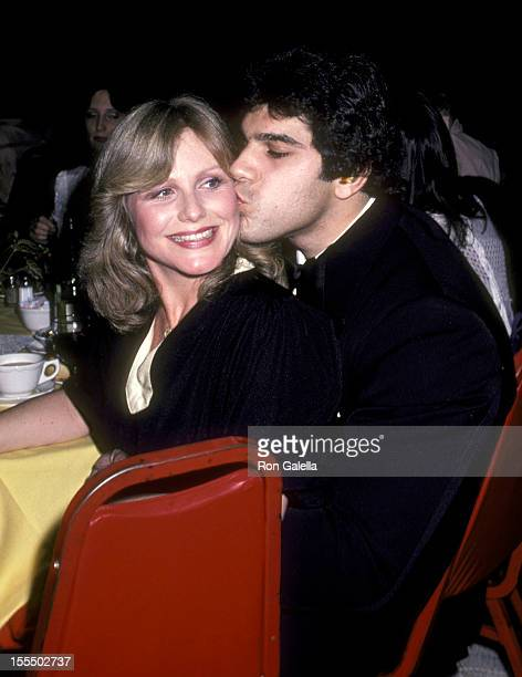 Bodybuilder and Actor Lou Ferrigno and wife Carla Green attend the 1981 Excellence in Media Angel Awards on March 25 1981 at Hollywood Palladium in...