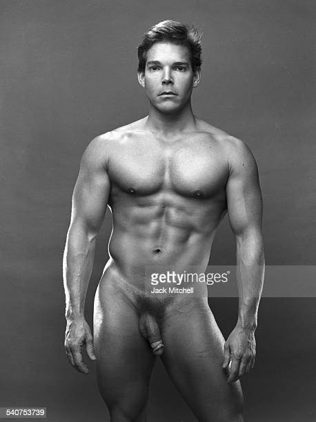 Bodybuilder and model Von Hackendahl photographed in February 1985
