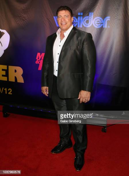 Bodybuilder Bob Cicherillo attends Freestyle Releasing's world premiere of Bigger at the Orleans Arena on September 13 2018 in Las Vegas Nevada