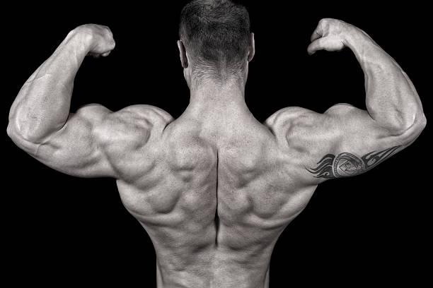 Bodybuilder Posing Wall Art