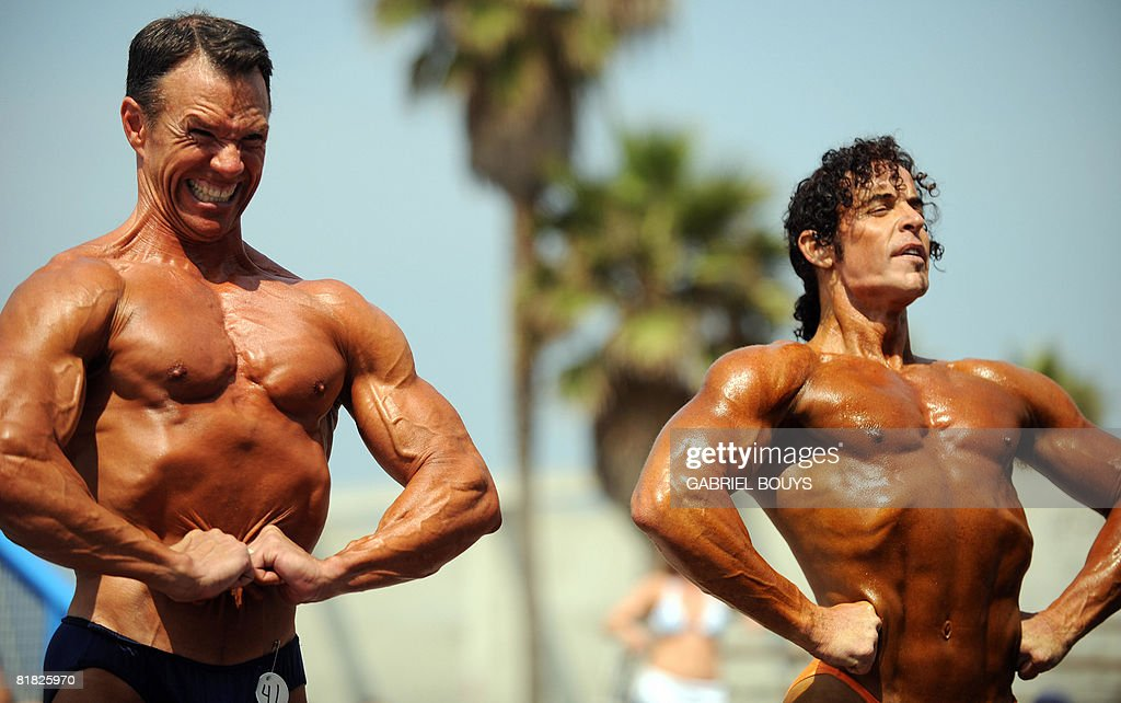 Bodybuilders over 45 years-old compete d Pictures | Getty Images