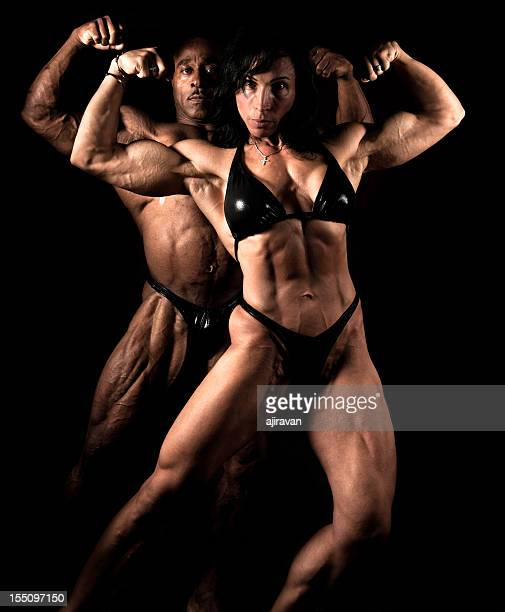 bodybuilders - body building stock pictures, royalty-free photos & images