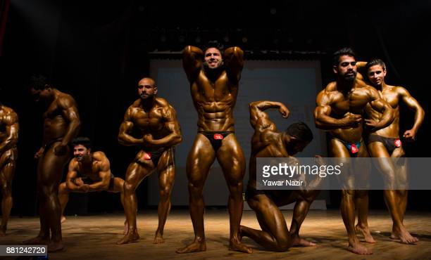 129 Kashmir Youth Display Bodybuilding Skills Photos And Premium High Res Pictures Getty Images