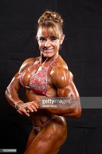 Arnold Sports Festival Portrait of Angela Debatin during photo shoot at Greater Columbus Convention Center Columbus OH CREDIT Simon Bruty