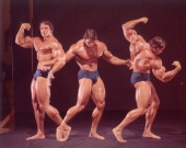 Bodybuilding multiple exposure portrait of arnold schwarzenegger picture id155703917?s=170x170