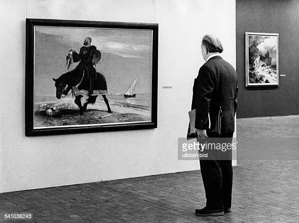 Boecklin Arnold *16101827Maler und Bildhauer CH`Der Abenteurer'Gemälde 1882