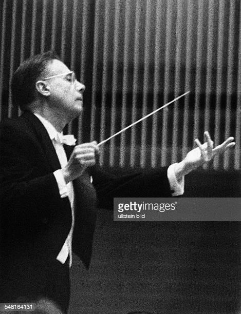 Boehm Karl Conductor Austria *28081894 conducting 1960ies
