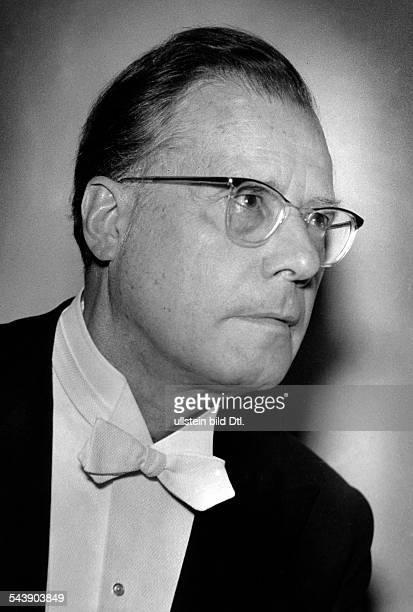 Boehm Karl Conductor Germany*28081894Portrait Photographer Charlotte Willott 1957Vintage property of ullstein bild