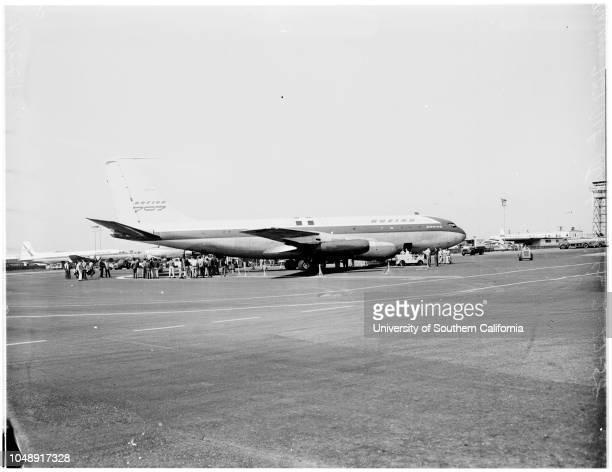 Boeing 707 Jet Stratoliner 27 February 1958
