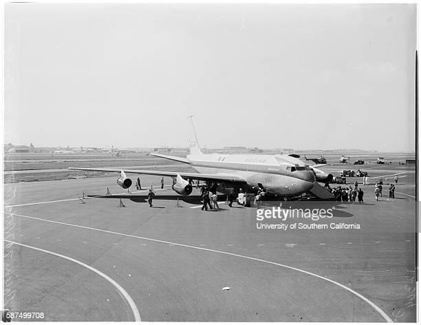 Boeing 707 Jet Stratoliner February 27 1958