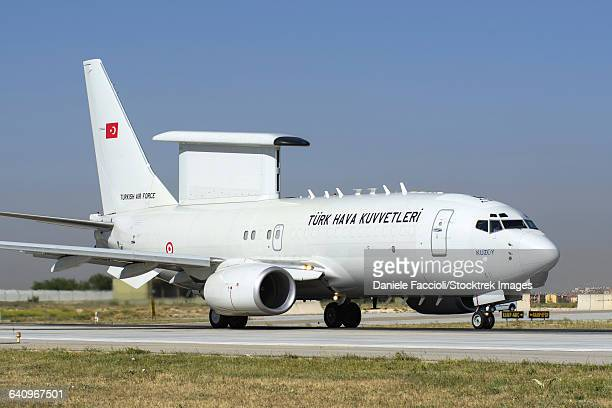 A Boeing 737 AEW&C of the Turkish Air Force.