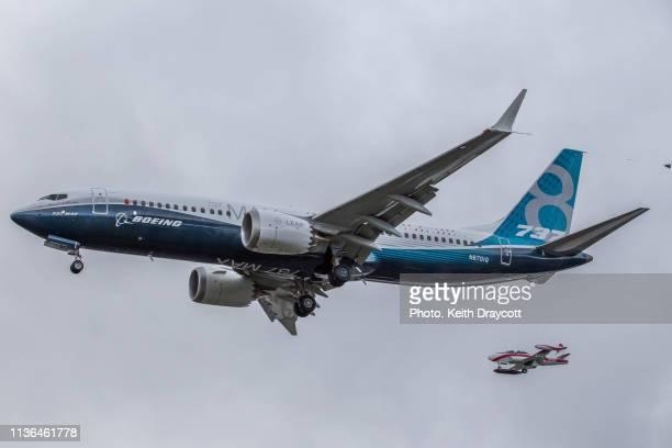 Boeing 737-8 MAX Maiden Flight