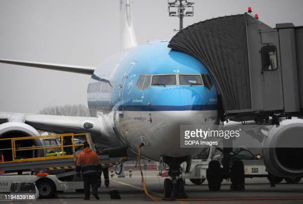 Boeing 737800 at Boryspil airport