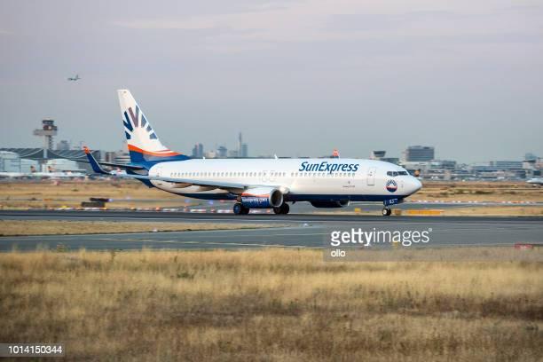 Boeing 737-800 von SunExpress nimmt ab