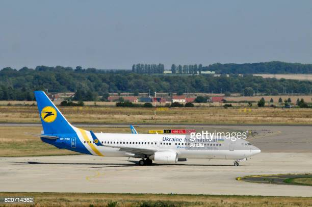 Boeing 737URPSC belonging to the Ukrainian airline Ukraine International