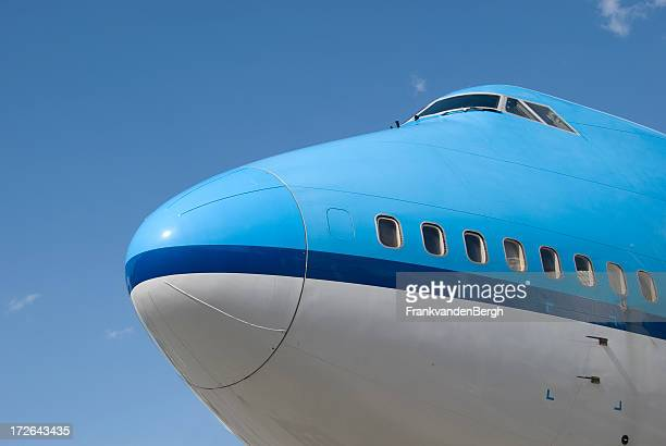 Boeing 747 nose and cockpit