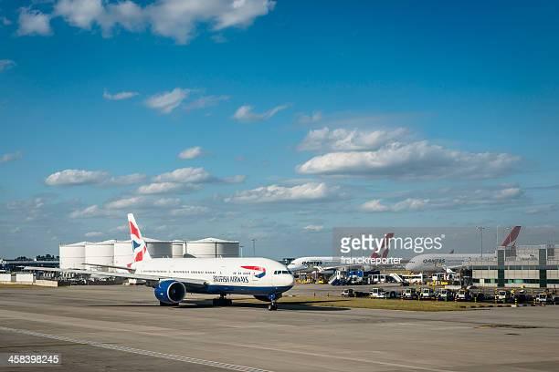 Boeing 747 of British Airways at Heathrow Airport