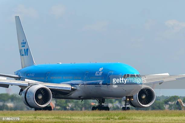 KLM Boeing 777 airplane