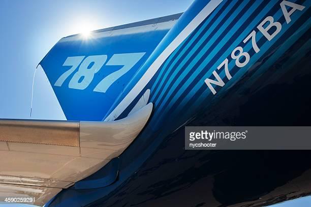 Boeing 787 Dreamliner tail-Bereich