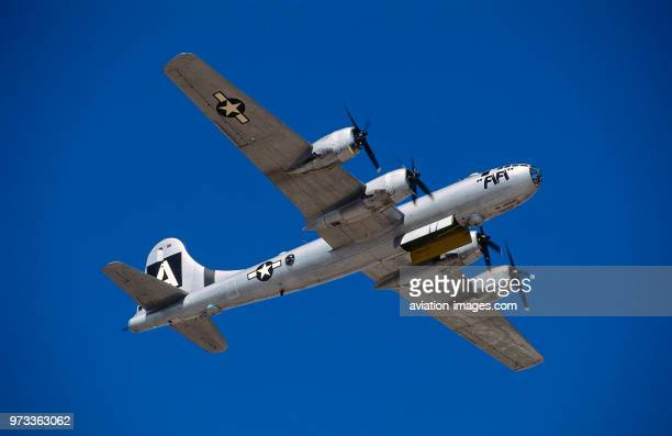 Boeing B29 Super Fortress named 'FiFi' in the flyingdisplay at the 1997 ConfederateAirForce Airshow